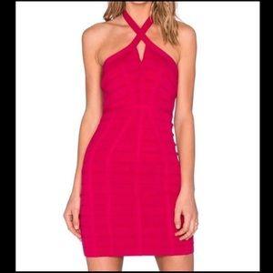 Dresses & Skirts - Pink Revolve Bandage Dress